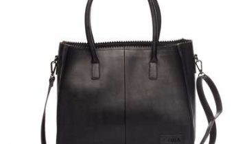 Zebra natural bag Lisa – Black